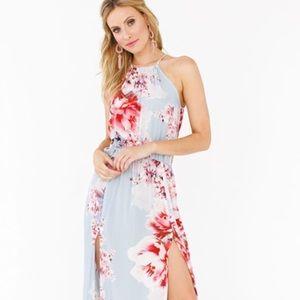 Plum Pretty Sugar Ashley maxi Dress M/L